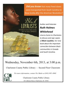 Whitehead: Black Loyalists