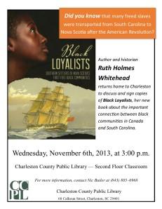Whitehead: Black Loyalists